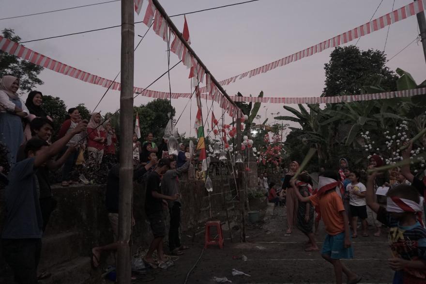Image : Perayaan Peringatan Hari Kemerdekaan Republik Indonesia di Dusun Jerukagung
