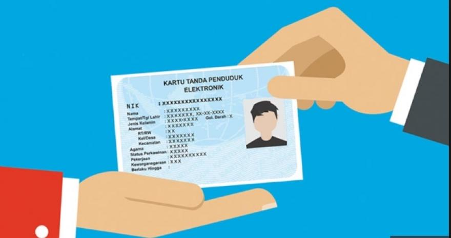 Image : Kartu Tanda Pengenal - Elektronik